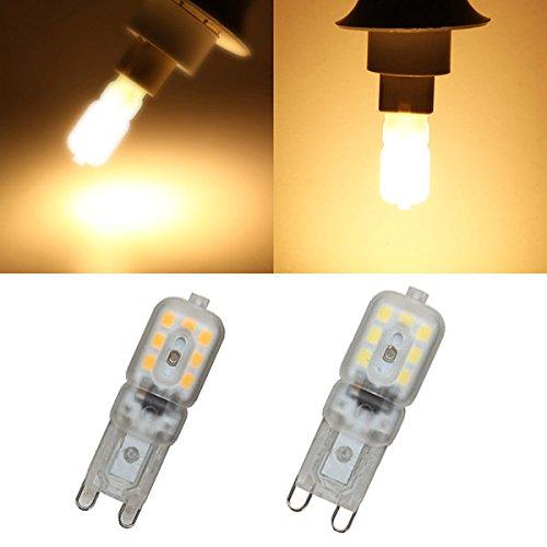 PhilMat G9 2.5w LED Zwiebel 14 smd 2835 200lm reine weiße/warme weiße leichte Lampe ac 220-240v