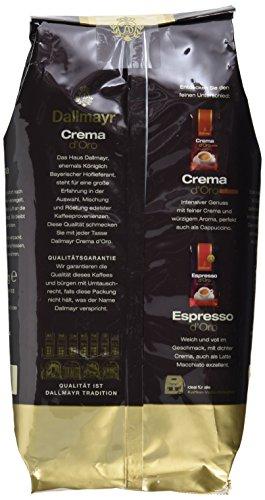 Dallmayr Crema d'oro mild und fein in Bohne, 1er Pack (1 x 1000 g Beutel) thumbnail