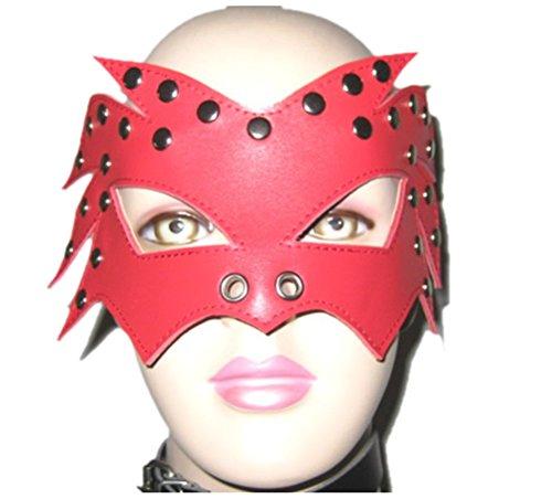 Demarkt rot große Augenklappe Kostüm Augen Maske Augenblinde Augenmaske