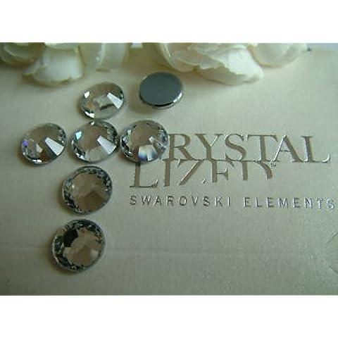24 ss40 2028 cristalli SWAROVSKI trasparenti, 8,5 mm Hot Fix - Swarovski 2028 Hot Fix
