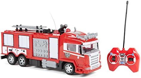 World tech toys Camion de de de Pompier-Radiocommande Up Lights & Shoots Water, 34980 | De Nouveau Modèle  2eb371