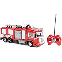 World Tech Toys – Camión de Bomberos – teledirigido Up Lights y Shoots Water, 34980