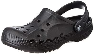 crocs Unisex's Black Clogs-8 Men/ 9 UK Women (M9W11)(9 US) (10126-001)
