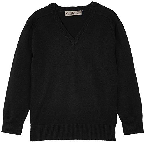 Trutex Limited Cotton Blend Pull, Noir, 10 Ans Mixte