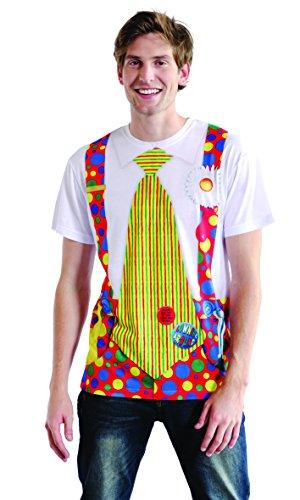 Boland 84225 - Fotorealistisches Shirt Clown, Kostüme für Erwachsene (Hund Halloween-kostüme Clown)