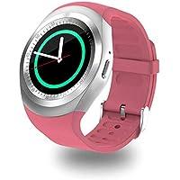 Bluetooth Y1 Smart Watch Android Smartwatch Llamada De TeléFono gsm Sim Pantalla Remota De InformacióN De