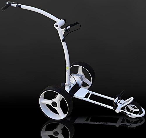 caddy-golf concede Elektro Golf Trolley weiss mit Bleiakku -