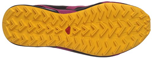 Salomon - City Cross, Scarpe Da Nordic Walking da donna Rosa (carmine/black/yellow gold)