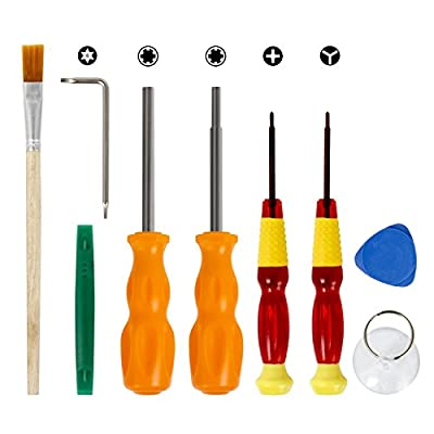 Nintendo Triwing Screwdriver, Keten Professional Full Triwing Screwdriver Repair Kit for Nintendo Switch and Nintendo SNES / Wii / DS / DS Lite / GBA and more, Security Screw Driver Game Bit Set by Keten
