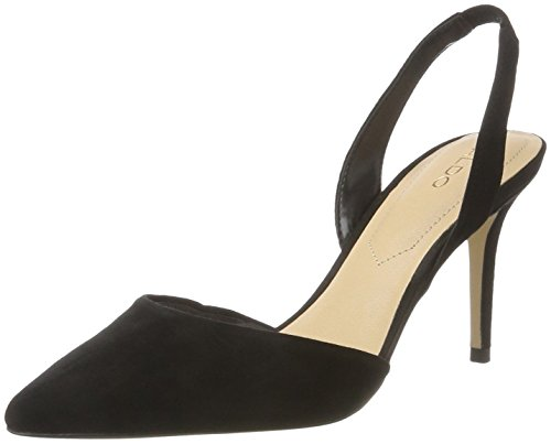 ALDO Damen ADEALLA Pumps, Schwarz (91 Black Suede), 38 EU Aldo Pumps