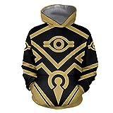 IDEALcos Spiel von Zelda Hoodie Sweatshirt Kostüm Daily Wear Cosplay Pullover Jacke