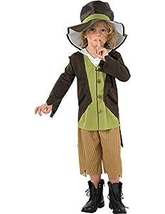 Fancydressfactory - Disfraz de victoriana para niño, talla M (881683M)