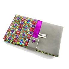 portefeuille femme gris a fleurs graphiques, compagnon de sac, porte  monnaie. e95dbac4f17