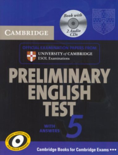 Cambridge preliminary english test. Self-study pack. Per le Scuole su periori: 5