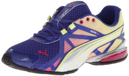 Puma Voltaic 5 Maschenweite Laufschuh Blue-Silver-Lime-Purple