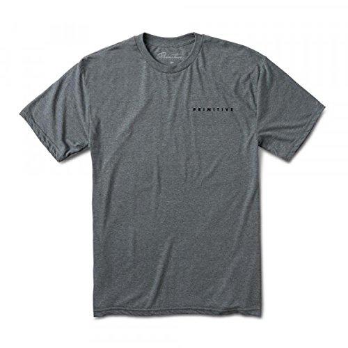 Primitive Elevate T-Shirt Heather Grey XL (Spitfire Skateboard-t-shirts)