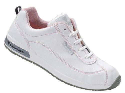 Maxguard Demy D374, Chaussures de Sécurité Mixte Adulte Blanc - D310