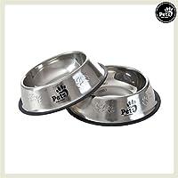 Pets&Partner® Hundenapf 2er Set aus Edelstahl für große Hunde