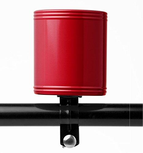 cruzies Bike Becherhalter/Fahrrad Handy Halter–aus dem gleichen Hersteller der hydroflask, rot