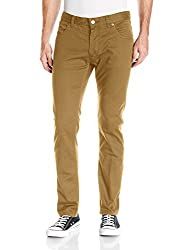 French Connection Mens 5 Pocket Trouser Pant, Old Camel Reg, 32