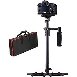 "Estabilizador de Cámara, FOTOWELT HD-2000 Steadycam dslr 30.9 ""/78.5cm con Placa de Liberación Rápida con Tornillo de 1/4 ''para Videocámara DSLR Sony Canon Nikon DV de hasta 1-5kg / 2.2-11.02Ib"