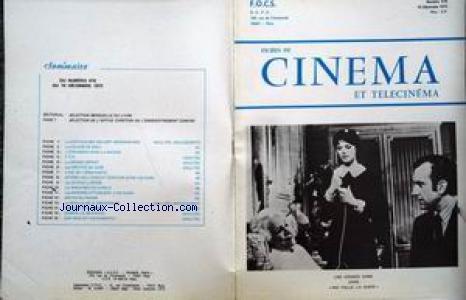 FICHES DU CINEMA [No 476] du 15/12/1972 - LA CHEVAUCHEE DES SEPT MERCENAIRES - LA COLERE DE DIEU - L'ETRANGER DANS LA MAISON - LE GRAND DEPART - LES GRIFFES DE JADE - L'ILE DE L'EPOUVANTE - LES MACHINES DU DIABLE - LES MARINES ATTAQUENT A OKINAWA - PAS FDOLLE LA GUEPE - SON NOM EST SACRAMENTO.
