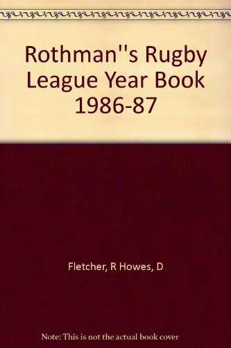 Rothman's Rugby League Year Book 1986-87