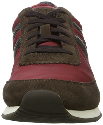 Boss Orange Adrenal_Runn_ny1 10201536 01, Sneakers Basses Homme Rouge (Dark Red)