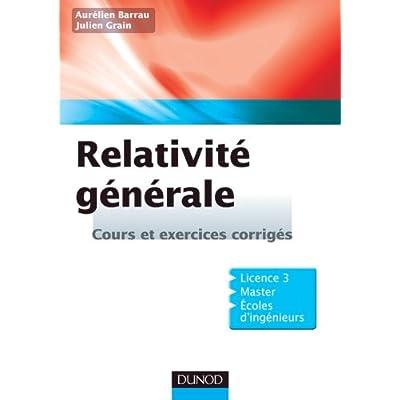 relativite generale pdf