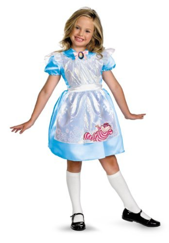 On Wonderland Kostüm Alice - Alice In Wonderland Classic Costume Child 3T-4T