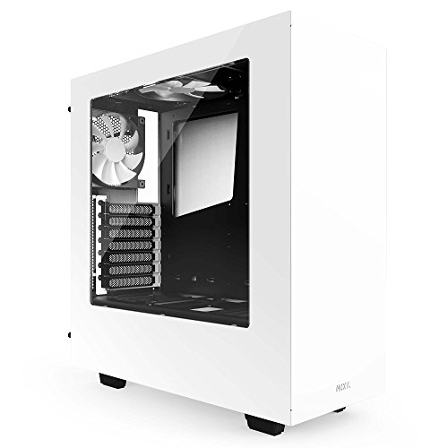 NZXT S340 Mid Tower PC Case - White