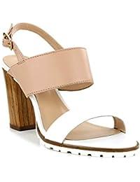 Sandalias de Mujer KICKERS 502050-50 SARDAN 3 BLANC BEIGE