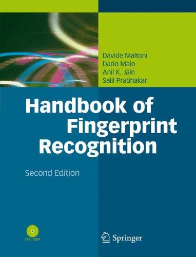 Preisvergleich Produktbild Handbook of Fingerprint Recognition