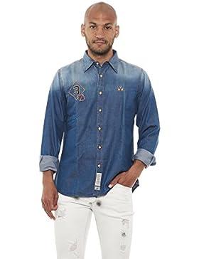 La Martina GMC324 camicia jeans