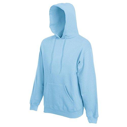 Fruit of the Loom - Kapuzen-Sweatshirt 'Hooded Sweat' S,Sky Blue