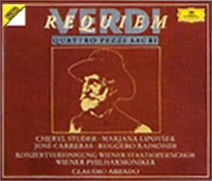 Verdi : Requiem, Quattro Pezzi Sacri