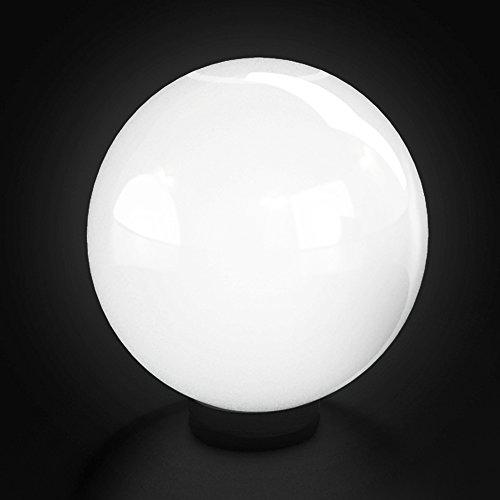 Preisvergleich Produktbild Kugelleuchte 50cm Gartenleuchte Lampe Kugellampe Gartenlampe Außenleuchte Leuchte Weiss