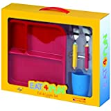 Eat4Fun:: Eat And Learn Kids Gift Set | Learn Alphabets And Numbers While Eating | Kids Dinner Set | Kids Gift Set | Kids Tableware |
