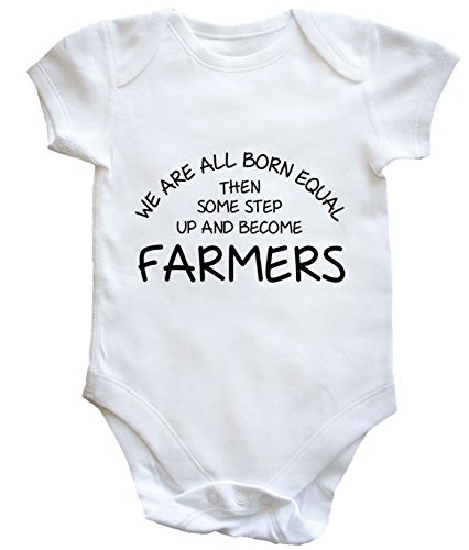 hippowarehouse-we-are-all-born-equal-then-some-step-up-and-become-farmers-baby-vest-boys-girls