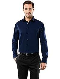 d48777b1ad32 Vincenzo Boretti Herren-Hemd Bügelfrei 100% Baumwolle Regular-Fit New-Kent  Kragen Uni-Farben - Männer Lang-Arm Hemden für Anzug mit…