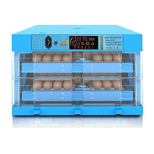 Eier Inkubator 112 Eier Automatisch Eierdrehen Digital Brutmaschine Temperatur Feuchtigkeit Steuerung Zum Bauernhof Hähnchen Ente Gans Geflügelzüchter