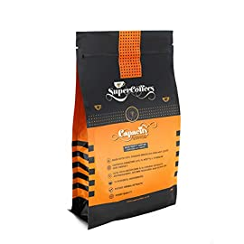 Capacity Nootropic Infused Coffee with Ashwagandha and CoQ10 – 100% Brazilian Arabica Coffee Promotes Cognitive Function and Mood Enhancement for Greater Focus and Performance (150g) 30 Servings