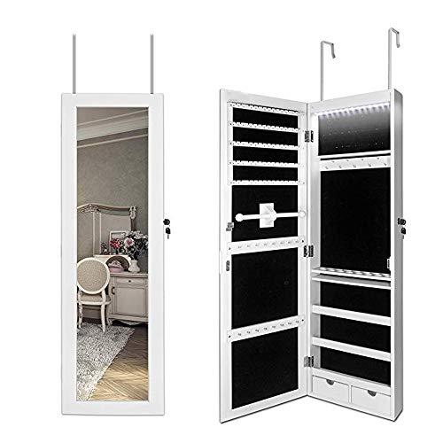Kleid Spiegel Schlafzimmer Wand Ganzkörperspiegel Home Wandbehang Spiegel Schmuck Aufbewahrung Spiegelschrank Schmuckschränke 021