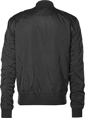Alpha Industries MA-1 TT Patch II Bomberjacke Schwarz