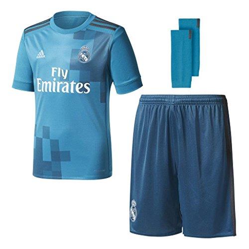 adidas Kinder Real Madrid 3rd Mini Kit, Vivtea/Solgre/White, 152