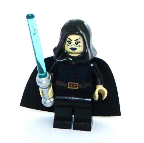 LEGO Star Wars: Minifigur Jedi Barriss Offee mit blauem Lichtschwert (Star Wars Lego-jedi Mit)