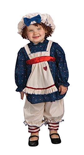 Ragamuffin Dolly Kostüm - Rubies Costume Co 33328 Yarn Babies