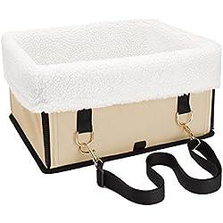 Fypo Cesta de transporte de mascota Bolsa de Cesta para perro o gato Cesta de transportín para usar en Auto o Aire libre