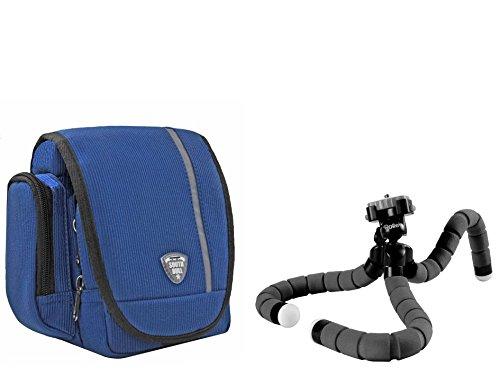 Foto Kamera Tasche Southbull Skate Set mit Rollei Monkey Stativ für Sony Cyber‑Shot DSC‑RX100 V, DSC-RX100M II, Sony DSC-RX100M III, DSC-RX100 IV -
