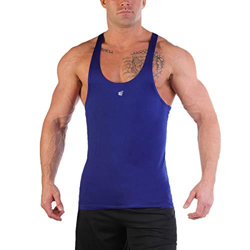 Jed North Bodybuilding Stringer Gym Tank Top Singlet Racerback
